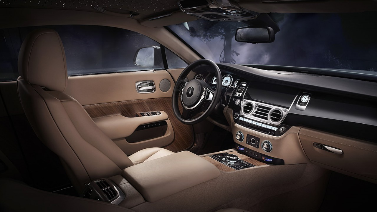 Wraith rolls royce cito for Interieur rolls royce