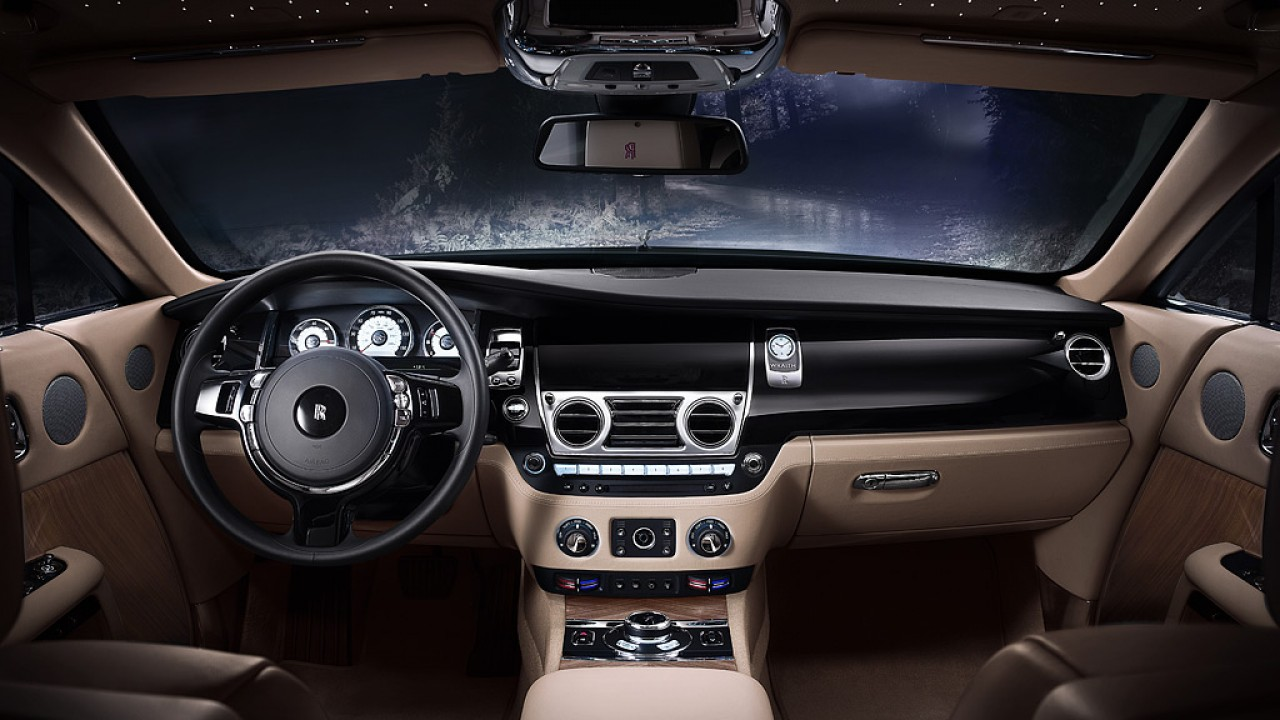 Wraith rolls royce cito for Interieur styling vacatures